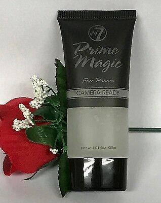 W7 PRIME MAGIC, CAMERA READY, CLEAR FACE PRIMER. SEALED 30ml XX