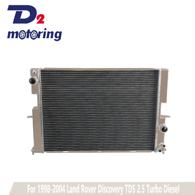 Aluminium Radiator For Land Rover Discovery Td5 2.5 1998-2004 Lightweight