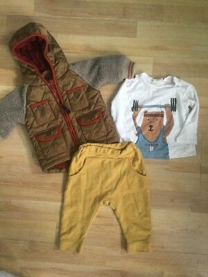 Zara, Next, M&p Baby Boys 3-6 Months Autumn Outfit Legging,joggrs, Jacket