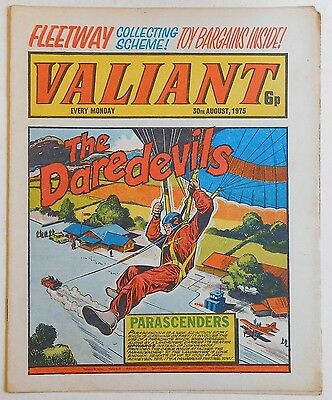 VALIANT Comic - 30th August 1975