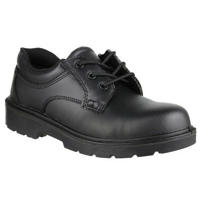 Amblers Mens FS41 Safety Gibson Steel Toe Leather Oxford Shoe S1-P-SRC