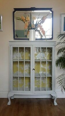 Display Cabinet painted in Annie Sloan