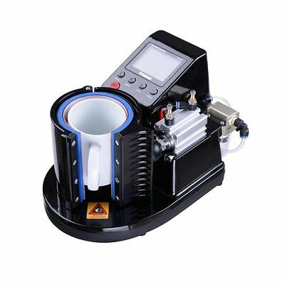 110V 11OZ Pneumatic Mug Heat Press Transfer Machine for Mug Sublimation Printing