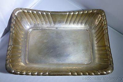 Reed & Barton tray Sterling Silver WINDSOR CENTERPIECE VTG Antique Estate