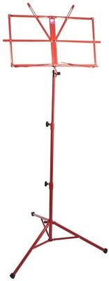 Pure Tone : Music Stand with Case (Red) - All instruments - Music Stand - [ Pupi