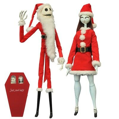 The Nightmare Before Christmas - Jack And Sally Coffin Doll Action Figure Diamon