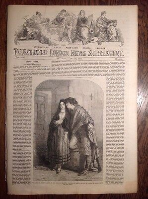 Illustrated London News, supplement, 28 May 1853, SCHOOL FOR THE BLIND