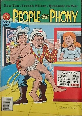 People are Phoney (1976) Siegel & Simon FINE