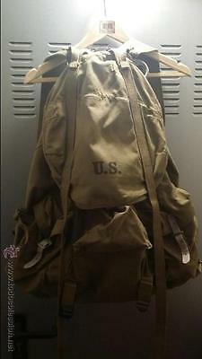 Wwii Alpine Rucksack Backpack Us Army Mountain Special Forces Fssf Vietnam Frame