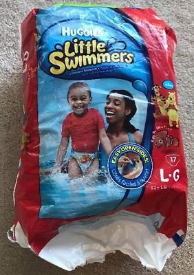 NEW Huggies Little Swimmers Size Large Swim Diapers 12 Count