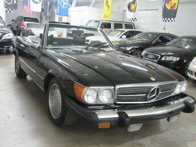 1976 Mercedes-Benz SL-Class  TRIPLE BLACK 60000 MILES GARAGE KEPT NON SMOKER AND ABSOLUTELY STUNNING!