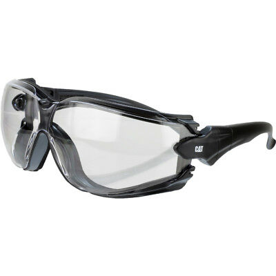 Caterpillar Mens Torque Work Safety Glasses Spectacles White