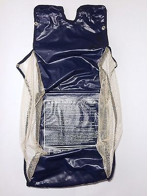 1) Graco Cubby Parade Stroller Replacement Mesh Navy Blue Gear Toy Lower BASKET