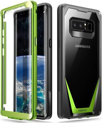 "Poetic Guardian ""Rugged Heavy Duty"" Case Cover For Samsung Galaxy Note 8 Green"