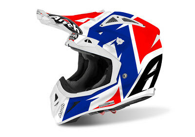 Airoh Aviator 2.2 Steady Gloss  Motocross Helmet Gold Stamped Approved