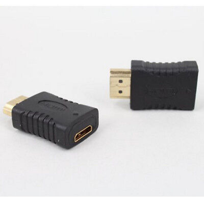 Mini HDMI Female to HDMI Male F/M HD TV Gold Plated Adapter Converter