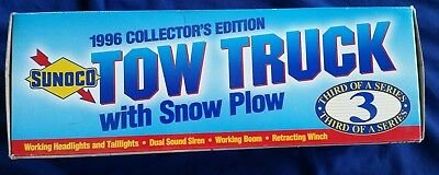 Sunoco 1996 Collector's Edition Tow Truck with Snow Plow 3rd in Series