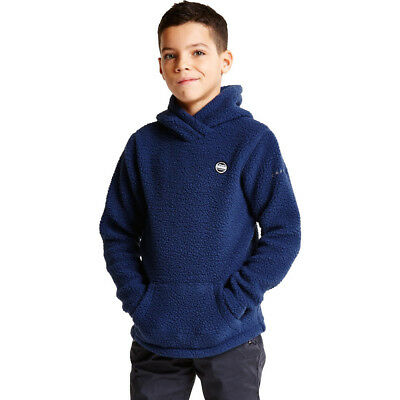 Dare 2b Boys & Girls Recast Polyester Hooded Fleece Sweater Top