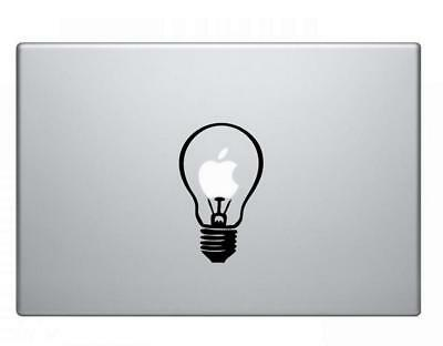 "Bulb Vinyl Decal Sticker Skin for Laptop MacBook Air/Pro 11'' 12"" 13'' 15' CAHF"