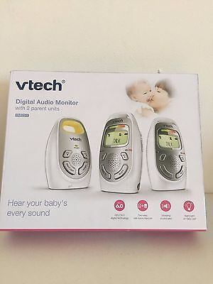 VTech Safe Digital Audio Baby Monitor with 2 Parent Units - DM223-2