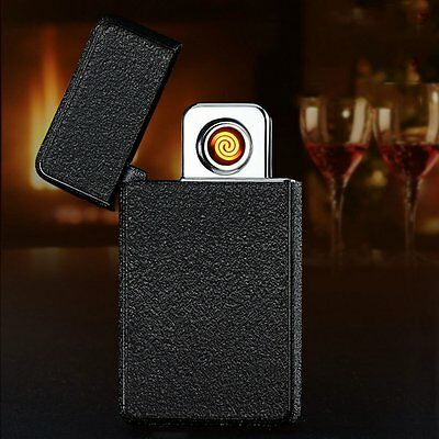 Fashion USB Electric Dual Arc Rechargeable Windproof Plasma Lighter Flameless