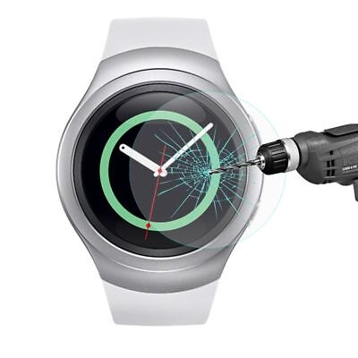 Tempered Glass Screen Protector for Samsung Galaxy Gear S2 SM-R720 Smart Watch /