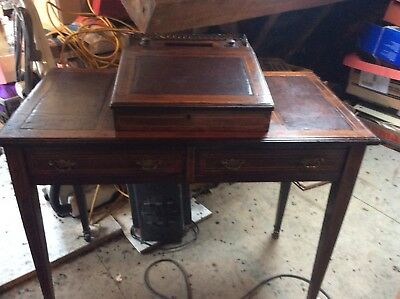 antique ladies writing desk and chair