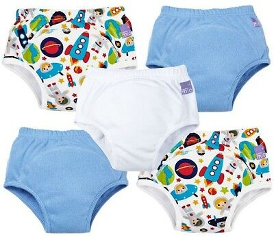 Bambino Mio Miosoft Reusable Training Pants For Boys, Aged 18-24 Months. 5 Pack