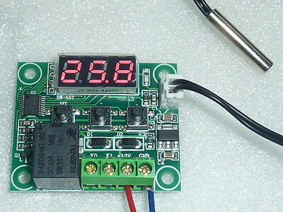 DC 12V Digital Heat / Cool Temperature Control Switch Relay UK stock