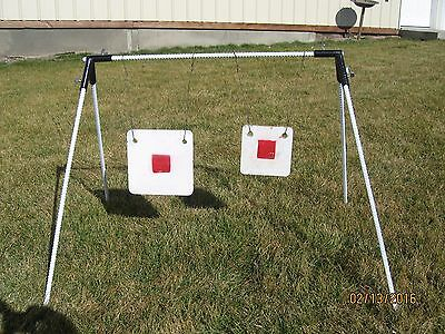Steel Target Shooting Stand for Hanging Steel Gong Targets. Very Portable