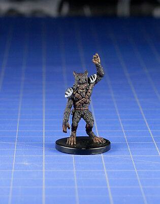 Star Wars miniatures minis Bounty Hunters Defel Spy #28 & Card WOTC