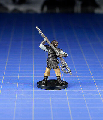 Star Wars miniatures minis Bounty Hunters  Weequay Leader #50 & Card WOTC