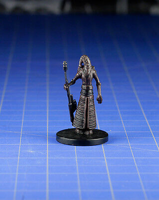 Star Wars miniatures minis Bounty Hunters Mustafarian Soldier #42 & Card WOTC