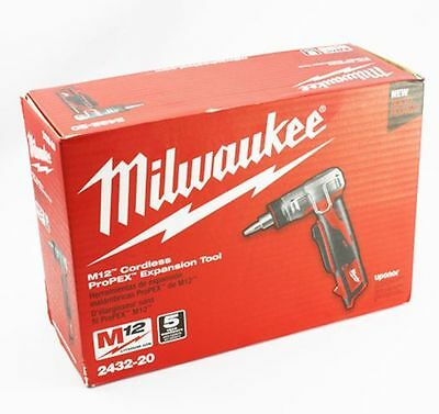 12 Volt M12 ProPEX Expansion Tool (Tool Only) Milwaukee 2432-20 New