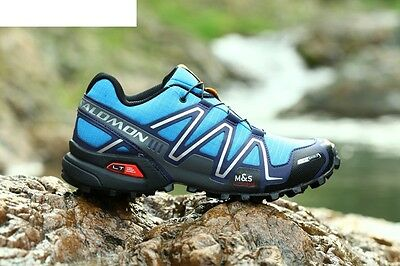 Men's Running Shoes Salomon Speedcross 3 Sneakers Outdoor Hiking US Size 12.5 13