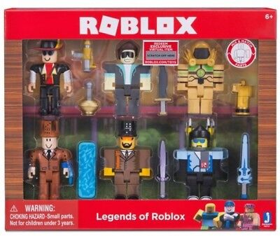Assemble Legends of Roblox 6 Pack Series 2 Mix & Match Parts Game Kids Toy