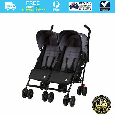Childcare Nix Twin Duo Stroller Thunder Rod