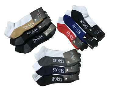 300x cotton ankle socks sport half cushion mens womens wholesale bulk clearance