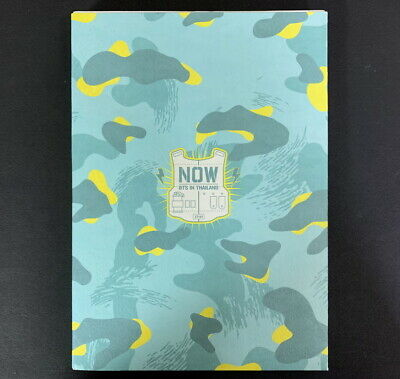 BTS-NOW1 in THAILAND DVD Photobook Bangtan Boys NM CONDITION