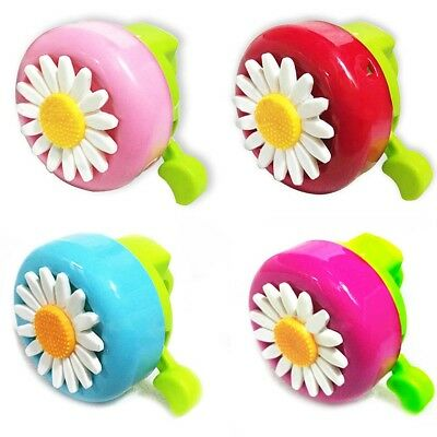 Safety Kids Bell Bicycle Horns Sports Bike Flower Power Ride Loud Clear Ring