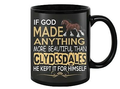 Clydesdale Horse Coffee Mug, Cups, Cup