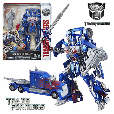 10' Transformers Optimus Prime Premier 5 The Last Knight Leader Action Figure