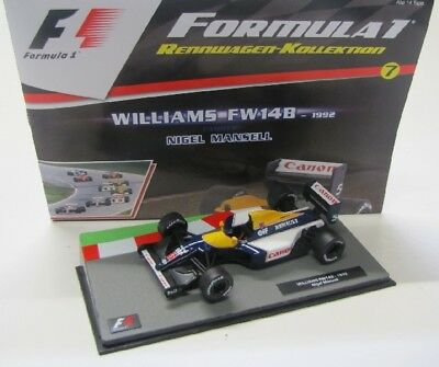 Williams FW 14B ( World Champion 1992 ) Mansell / Panini 1:43