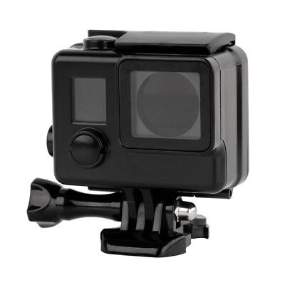 Waterproof Blackout Matte Case Housing for GoPro Hero 3, 3+, 4 Silver Black