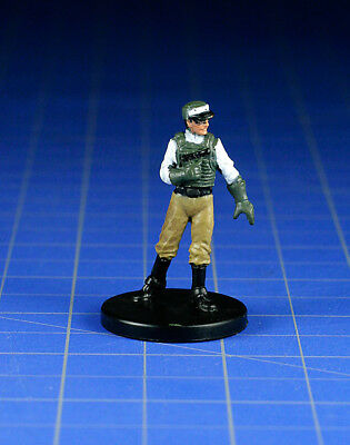 Star Wars miniatures minis Legacy Of The Force Rebel Human Scout #48 & card