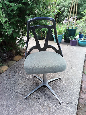 1960s Retro Grafton Atomic Plastic Backed Office Chair