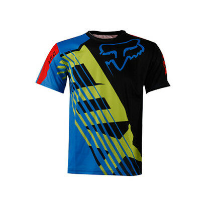 Resistance short Sleeve Downhill Shirt Cycling Jersey motocross bike clothing
