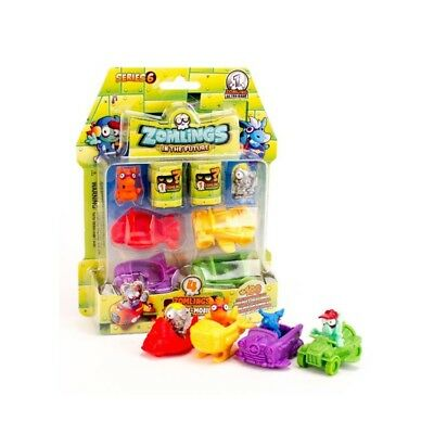 Zomlings Serie 6 - Blister Zomlings S6 - Zomlings in the future de Magicbox