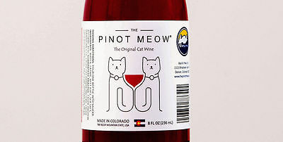 Pinot Meow Cat Wine Pet Catnip