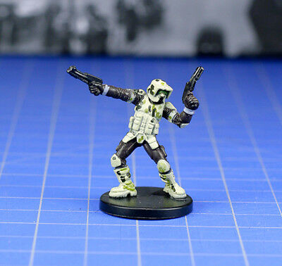 Star Wars miniatures minis Champions of the Force Kashyyyk Trooper #29